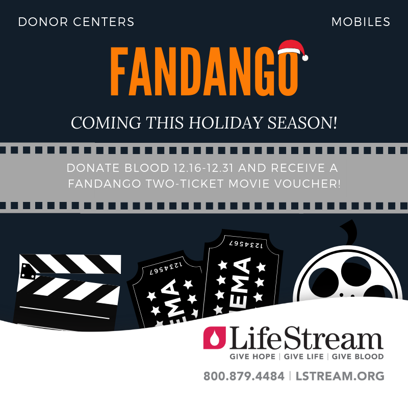 Fandango Is Back Help Save Lives By Donating Blood