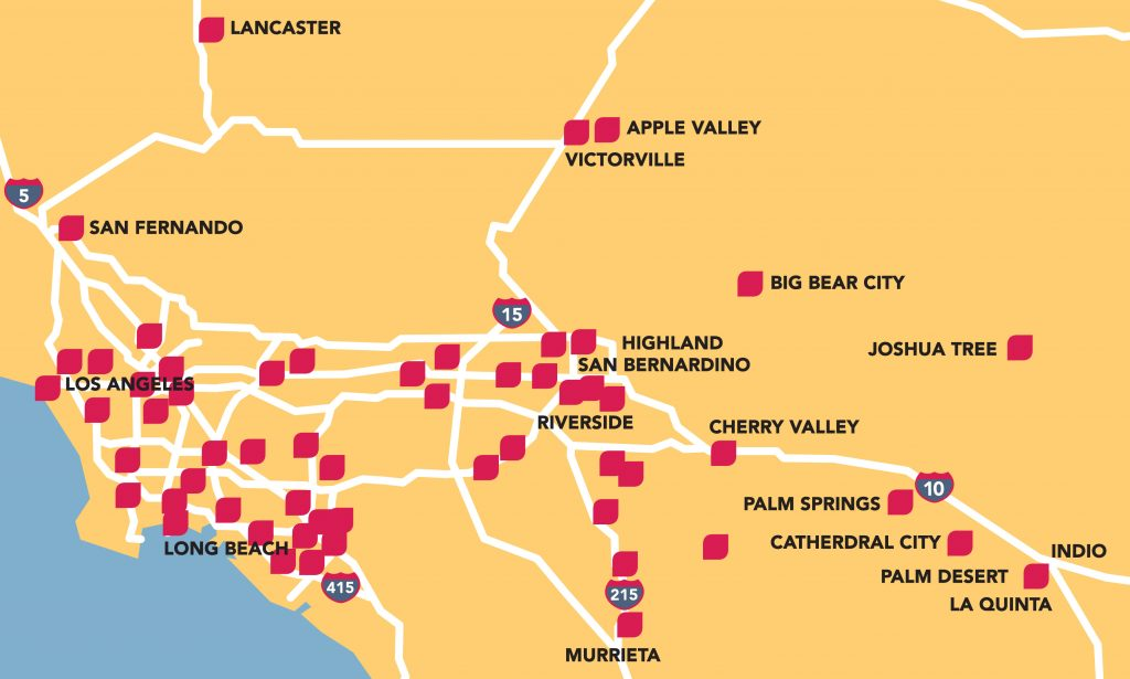 Map Of California Hospitals.Lifestream Blood Bankservice Region Lifestream Blood Bank